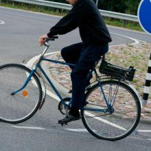 Palangoje dviratininkas sužalojo penkiametį berniuką