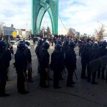 Irane įvyko naujų smurtinių protestų prieš vandens užterštumą