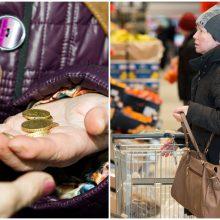 Vyriausybės kova su kainomis: oficialiai pritarta maisto kuponų sistemai