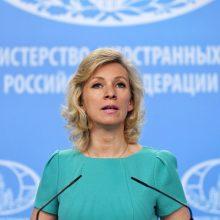 Rusija atmetė JAV deklaraciją dėl Krymo