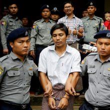 """Mianmare atmesta dviejų """"Reuters"""" žurnalistų apeliacija dėl įkalinimo bausmės"""