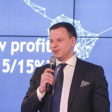 """V. Šapoka: rizikų valdymas """"fintech"""" sektoriuje – svarbus mūsų prioritetas"""