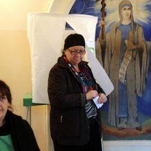 Gruzija balsuoja antrajame itin atkaklių prezidento rinkimų ture: nesklandumų nėra