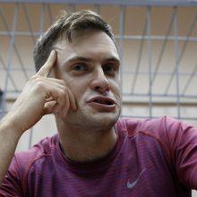 """""""Pussy Riot"""" aktyvisto draugė: P. Verzilovas apnuodytas didele vaistų doze"""
