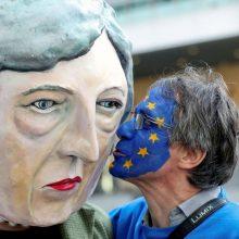 """Europos Sąjunga baigė pasiruošimą """"Brexit"""" be sutarties scenarijui"""