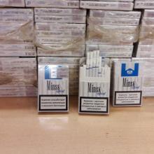 Šiemet kiek smuko dalis kontrabandinių cigarečių rinkos