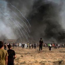 Izraelis vėl atidarė žmonėms skirtą pasienio perėjimo postą su Gazos Ruožu