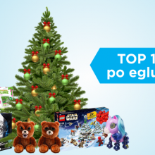 Populiariausių žaislų po eglute dešimtukas: ką dovanoti vaikams <span style=color:red;>(apžvalga)</span>