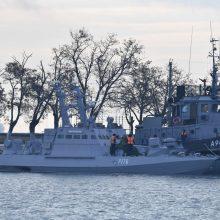 Dėl incidento Kerčėje Rusijos ambasadorius iškviestas į Estijos URM