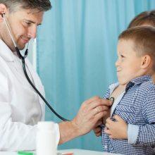 Ar vaikas be tėvų gali eiti pas gydytoją?
