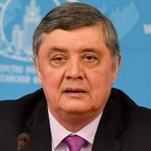 Maskvos diplomatas: Rusija tarpininkauja deryboms Afganistane, nes JAV patyrė fiasko