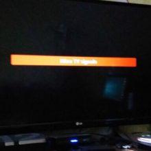 Sumokėta už dvejus metus televizijos, bet jau ketvirta diena su juodu ekranu