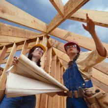 Statybai išduodamų leidimų mažėjimą lemia ir kalbos apie krizę