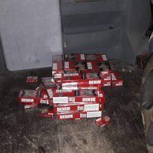 Cigaretes jurbarkiškis iš Rusijos atvežė garso kolonėlėje