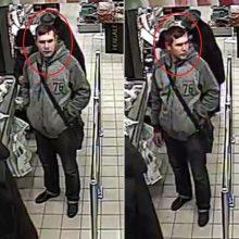 """""""Iki"""" parduotuvėje įvykdyta vagystė: policija ieško šio vyro"""