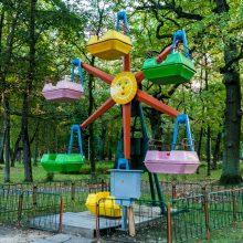 Vytauto parko likimas: su apžvalgos ratu, fontanu ar daugiabučiais?