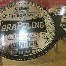 Europos graplingo čempionate – lietuvių dominavimas