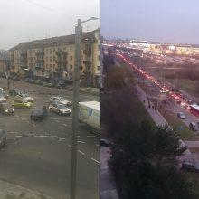 """""""Juodasis penktadienis"""" Kauno gatvėse: tarp nukentėjusių per avarijas – ir kūdikis"""