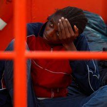 Viduržemio jūroje iš septynių laivelių išgelbėta per 300 migrantų
