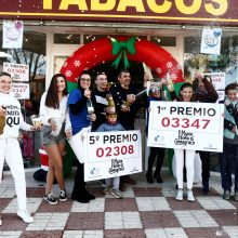 Ispanijoje per Kalėdų loteriją paaiškėjo 2,4 mlrd. eurų prizų fondo laimėtojai