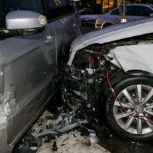 Per avariją Plungėje nukentėjo mergina