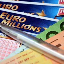 115 mln. svarų loterijos laimėjimas D. Britanijoje atiteko vienam asmeniui