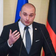 Lietuvoje lankosi Gruzijos premjeras