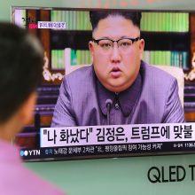 Šiaurės Korėją supurtė žemės drebėjimas
