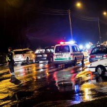 Tragedija Kauno rajone: netoli perėjos mirtinai sužalota pėsčioji