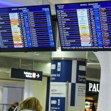 """Tęsiasi """"Air France"""" streikas: atšauks dalį skrydžių"""
