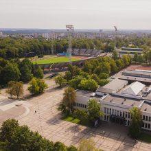 Senasis Kauno stadionas skaičiuoja paskutines minutes: ruošiamasi griovimo darbams