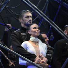 """Pirmą kartą Trakų pilyje parodytas """"Otelas"""""""
