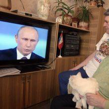 """Ginčas dėl sankcijų """"NTV Mir"""" pasiekė Teisingumo Teismą"""