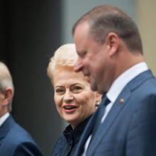 Lietuvos vadovai sveikina Estiją Nepriklausomybės dienos proga