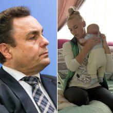 Etikos sargai imsis tyrimo dėl nesantuokinio vaiko sulaukusio P. Gražulio