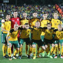 Gruzijoje – skaudus Lietuvos futbolo rinktinės pralaimėjimas