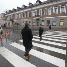 Susirūpino saugumu: perėja nėra zona, kurioje pėsčiasis tampa neliečiamas