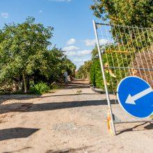 Nelaimė Kaune: darbininką užgriuvo žemės, pažeistas dujotiekis