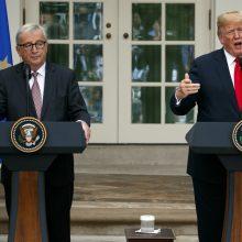 D. Trumpas: Europos Komisijos pirmininkas – griežtas ir bjaurus