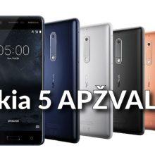 """""""Nokia 5"""": ką mano ekspertai?"""