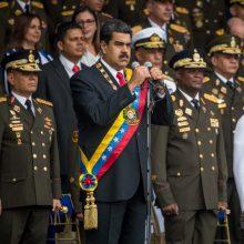 Venesueloje dėl pasikėsinimo į prezidentą bus teisiami įstatymų leidėjai