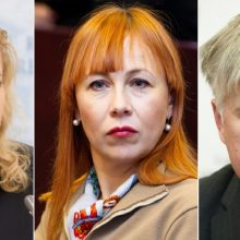 Premjeras atnešė teikimus prezidentei dėl trijų ministrų atleidimo