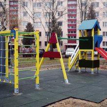 Daugiabučio kieme Kaune – vyro smurtas prieš mažametes