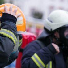 Ugniagesiai vyksta į Kėdainių rajoną: dega kuro bazė