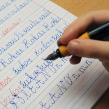 Lietuvių kalbos išlikimo istorija: ne abėcėlės raidės buvo svarbiausios