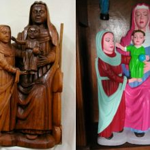 Ispanijoje nevykusiai restauruota dar viena relikvija