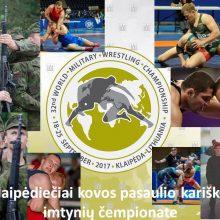 Klaipėdoje startuoja kariškių imtynių čempionatas