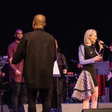 "Klaipėdoje praūžė M. Linkytės ir ""London Community Gospel Choir"" koncertas"