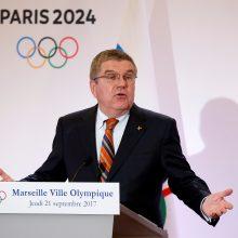 TOK vadovas: Pjongčango olimpiada suteikė vilties padalintam Korėjos pusiasaliui