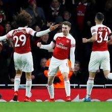 """""""Premier"""" lyga: Londono derbyje – įspūdinga """"Arsenal"""" pergalė"""